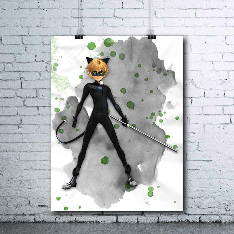 Cat Noir Miraculous Ladybug Cat Noir Poster Cat Noir
