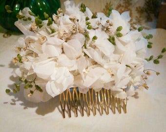 Flower Comb/Wedding comb/bridal headdress/headdress/floristaselam/comb/Flower hair comb/romeria/flamenco headdress