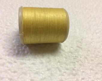 Thread DMC 100% cotton yellow 744