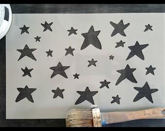 My Little Star Reusable Stencil