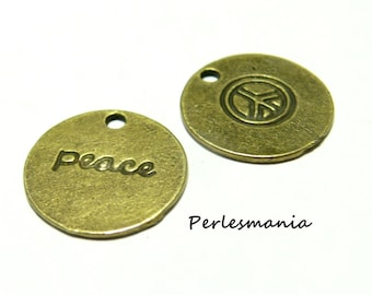 10 charms in peace jewelry primer Bronze 2A 8210