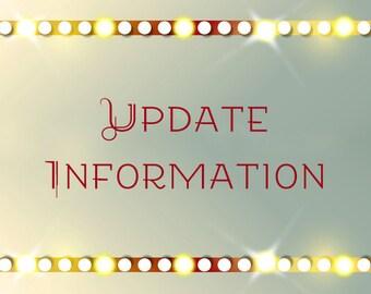 Update Information