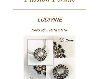 Pattern ring and/or pendant LUDIVINE