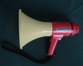 Vintage Orchid  Battery Operated Megaphone