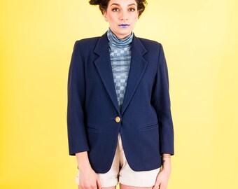 Vintage Wool Blazer