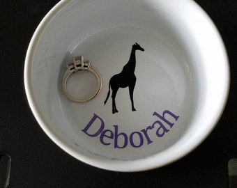 Personalized Ring Tray / Dish