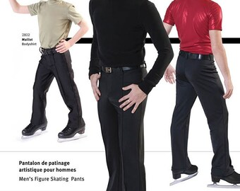 Jalie Men's and Boys' Figure Ice Skating Pants Sewing Pattern # 2803 in 22 Sizes