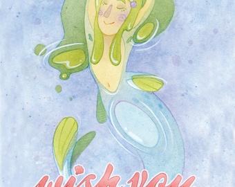 Wish You Were Here Print