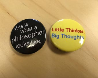 Button Set For Little Thinkers