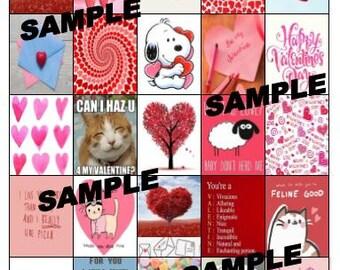 Valentines Day Planner Stickers 2017 Edition