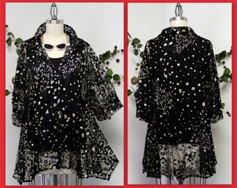 Dare2bstylish Bling and Sparkle, Hoilday Plus size Jacket Blouse size M to 3XL