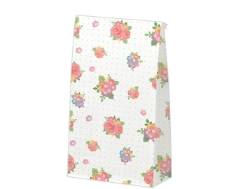 """CLEARANCE  New from Heiko """"Abigail"""" Small Paper Bags with Gusset. Set of 10"""