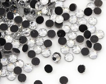 Set of 100 HOTFIX 6.3 mm (SS30) gorgeous quality crystal swarovski rhinestones