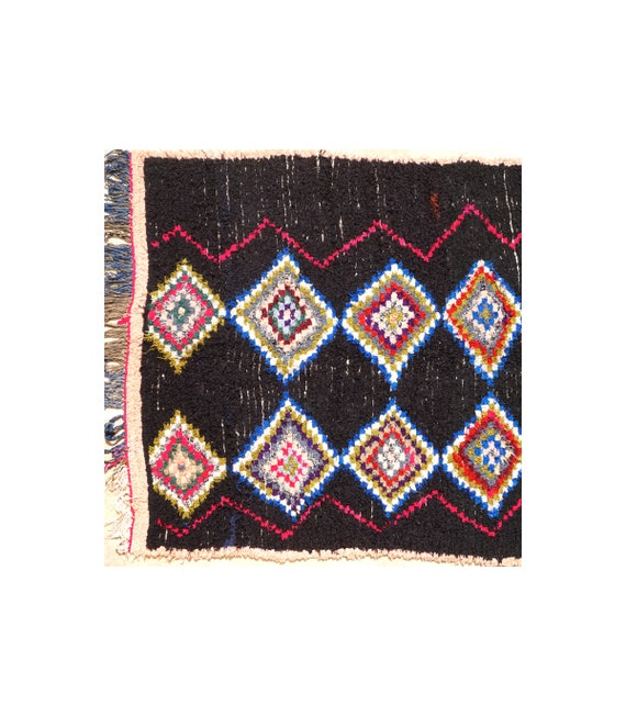 tapis berb re ancien en laine vierge rase. Black Bedroom Furniture Sets. Home Design Ideas