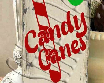 Get your Candy Canes here  SVG, PNG, JPEG