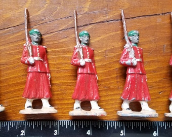 1930s Original Britains / Johillco WWI French Spahis North African Toy Soldiers