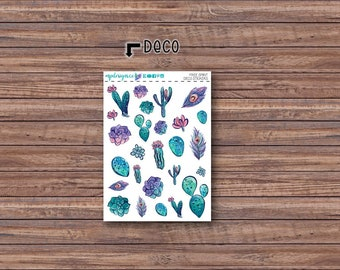 Free Spirit Deco Stickers | ECLP | Happy Planner | Recollections Planner