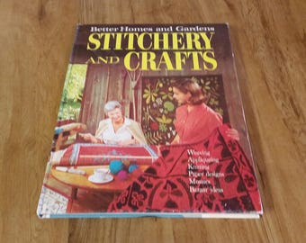 On Sale Better Homes and Gardens Sewing Stitchery and Crafts Hardback Craft Book for Sewing and Crafting