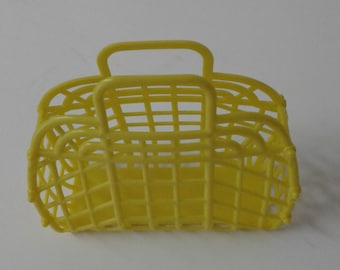 NEW Vintage Retro (1980's) DOLL Jelly Plastic Purse (Made in the USA)