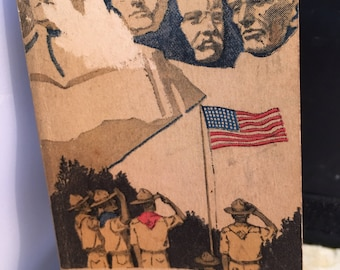 1942 Boy Scouts of America offical Diary