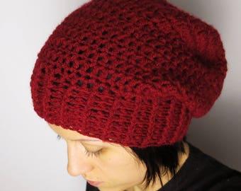 Crochet hats, beanies, accessories women, vegan friendly, acrylic hats, gift idea