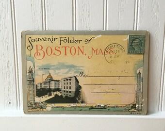 Vintage Postcards/Postcard Folder