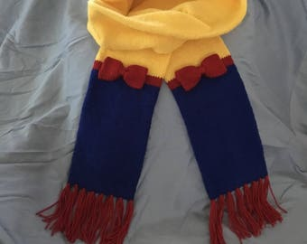 Snow White Inspired Scarf - Ready to Ship