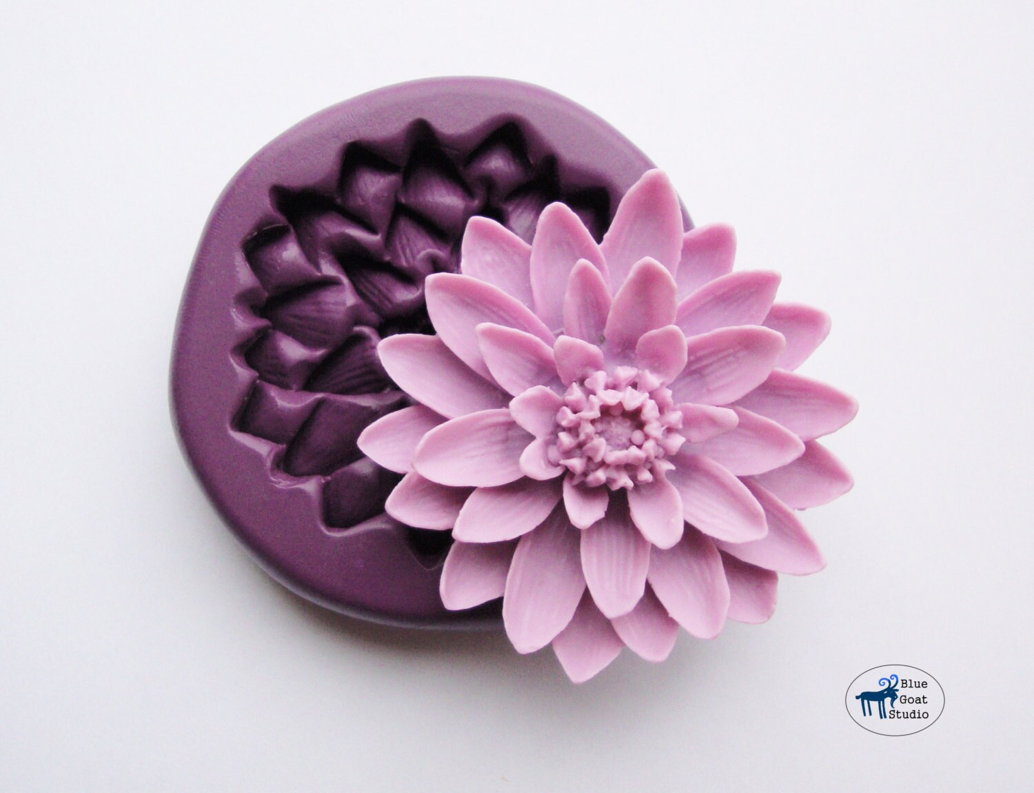 Water lily lotus flower moldmould silicone molds polymer zoom izmirmasajfo Images