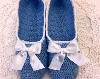 SLippers crochet Hand made  Socks House shoes