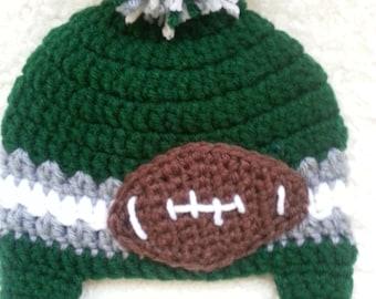 Crochet Philadelphia Eagles Hat