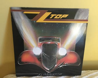 Zz Top Eliminator Record Album NEAR MINT CONDITION