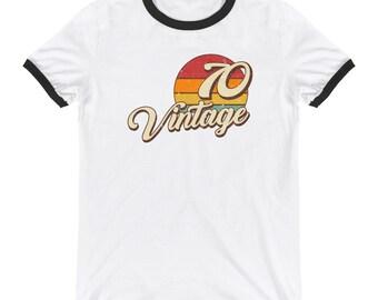 Vintage 1970 Ringer T-Shirt