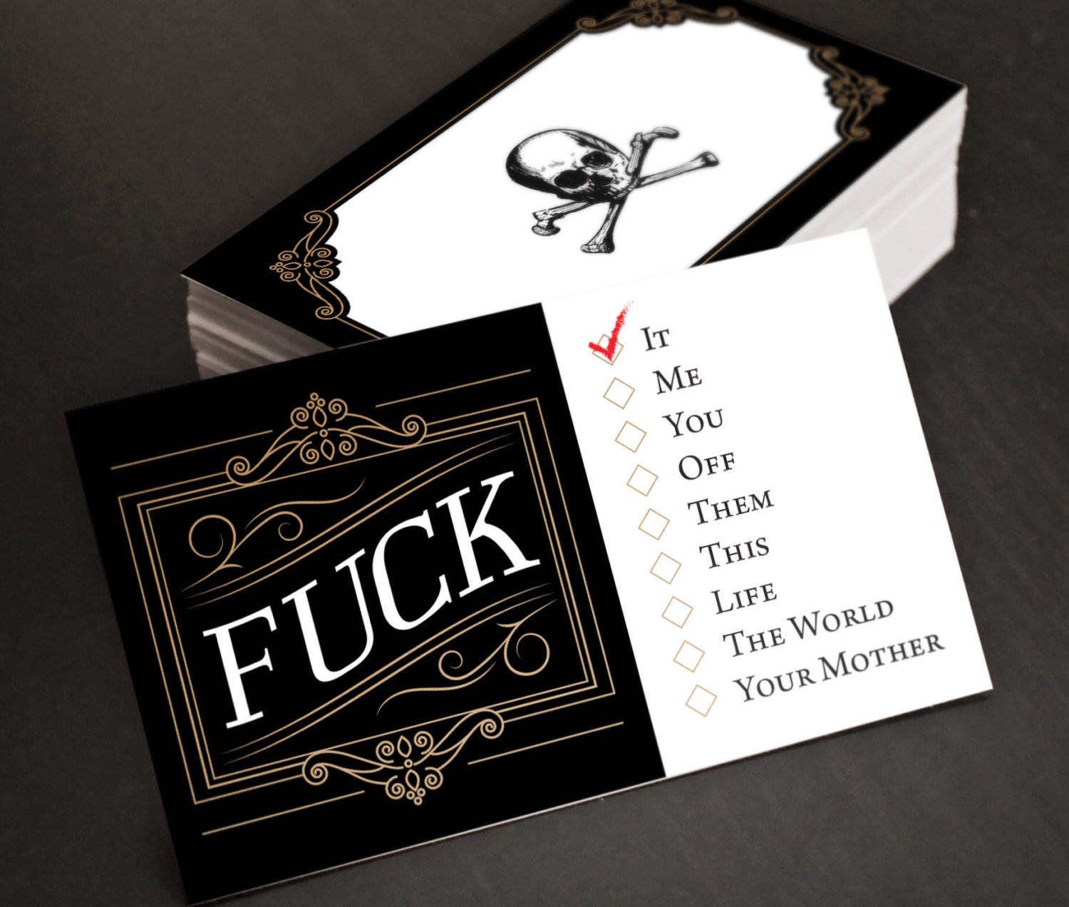 Funny gift for dad fuck cards funny hilarious joke zoom colourmoves