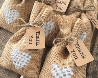 Thank you tags - Party Favour Tags - Kraft Paper Tags - Wedding Favour Tags - Rustic Wedding Tags
