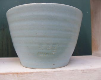 Blue Bowl for food or as a plant pot