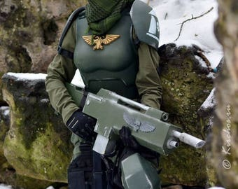 Cadian Armor (version for Girls and women)