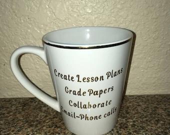Teacher Appreciation Coffee Mug