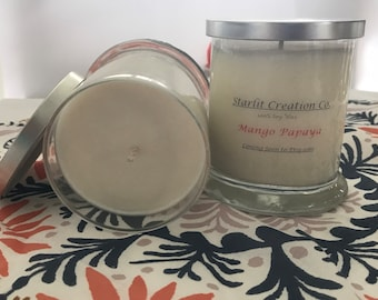Mango Papaya 12 Ounce Soy Candle