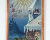 Embossed Merry Christmas ...