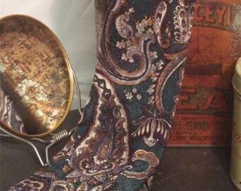 Vintage Silk Tie Leo Chevalier Paisley #001