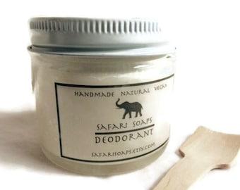Natural Deodorant for Sensitive Skin -  Baking Soda Free  -  Aluminum Free - Vegan