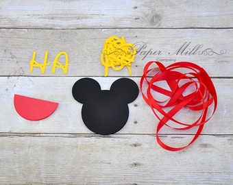 Childrens happy birthday banner farm banner barnyard party diy mickey mouse happy birthday banner kit mickey mouse birthday do it yourself birthday solutioingenieria Image collections