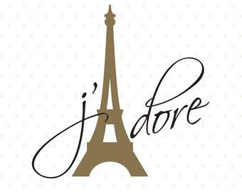 Love svg, Eiffel Tower svg file, Teen T-shirt SVG, Paris svg, Commercial cut file, DXF cut file, vinyl SVG file, wall decal file