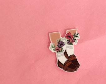 Loafers Pin [brooch lapel pin shoes]