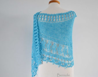 JULIETTA, Crochet shawl pattern pdf