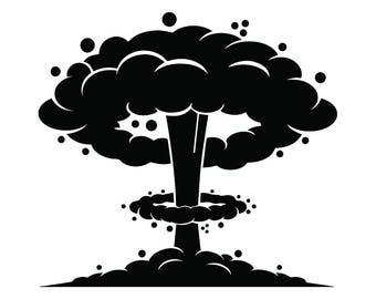 Nuclear clipart | Etsy