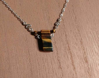 Crystal Necklace - Tigers Eye