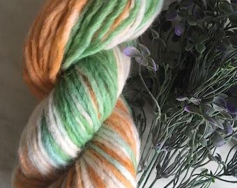 100 g Alpaca and Merono wool, natural hand dyed with natural dyes, organic yarn, natural yarn
