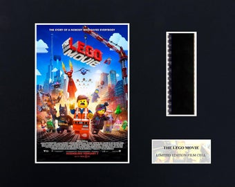 Lego Movie (8 x 10) film cell