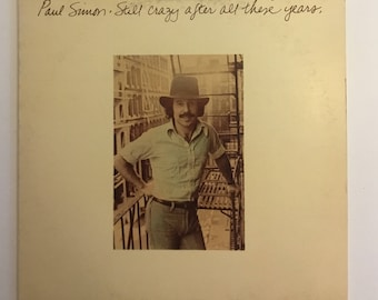Paul Simon Still Crazy After All These Years Vintage Vinyl Record Album 1975